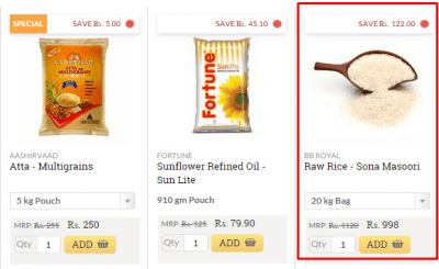 Bigbasket discount coupon