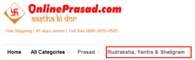 OnlinePrasad coupons