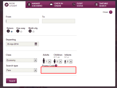 Qatar Airways coupon code