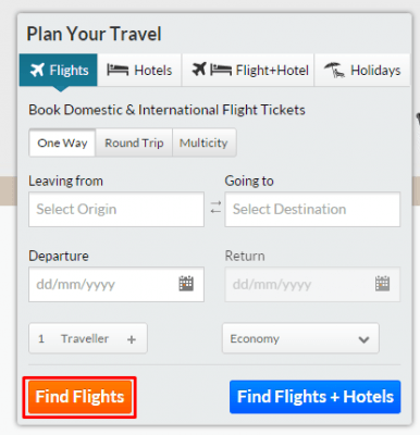 Discount coupons for domestic flights in india